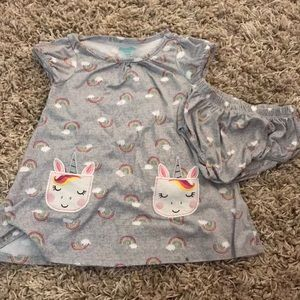 Nannette Baby Size 24 Months Dress With Bloomers